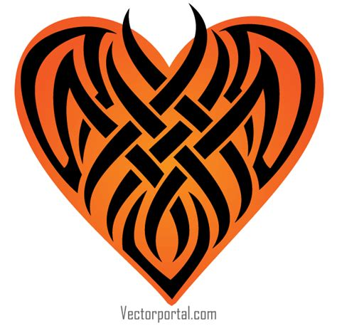 heart tattoos vector free vector tattoo heart clipart best