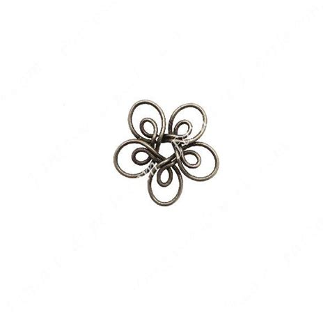 fiore stilizzato pin fiori con cinque petali on