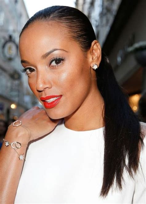 hairstyles for black wet hair 43 selita ebanks african american hairstyle slicked back