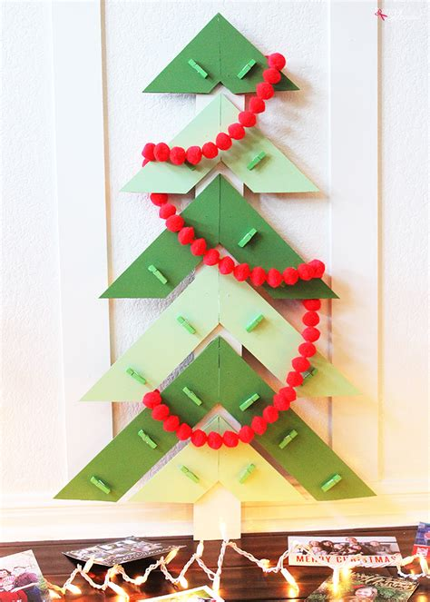 Tree Season Card Holder Hitam tree diy card holder diy