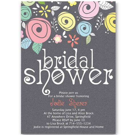 When To Send Shower Invites by Bridal Shower Invitations At Wedding Invites