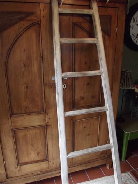 woods vintage home interiors large reclaimed wooden towel ladder