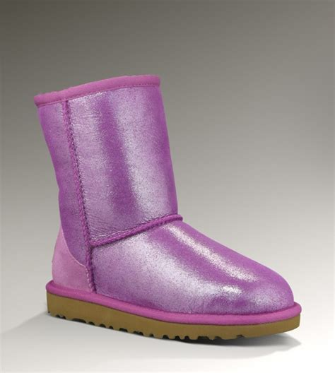 pink sparkle ugg boots