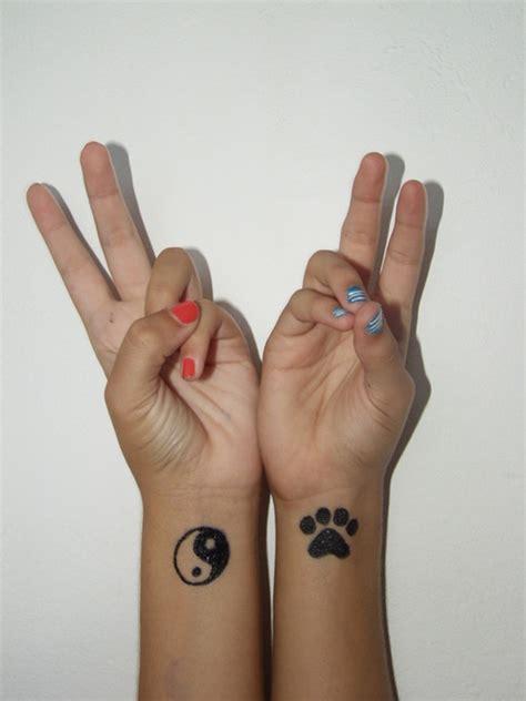 39 dazzling yin yang wrist tattoos