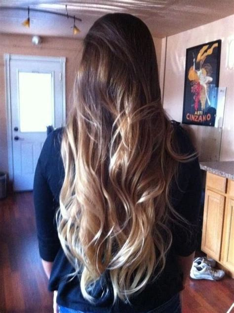 how long does hair ombre last ombre with long hair all hair style for womens