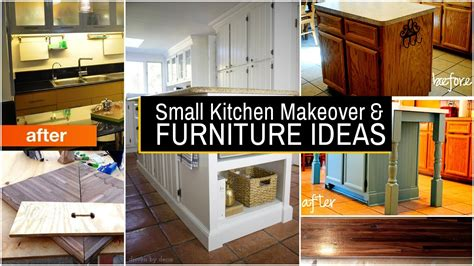 Small Kitchen Makeover Ideas by 20 Small Kitchen Makeover And Furniture Ideas