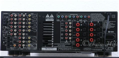 denon avr  highend dolby digital dts  receiver