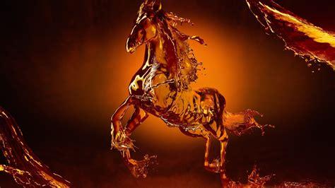google themes horse fantasy wildlife abstract animal creative design art hd