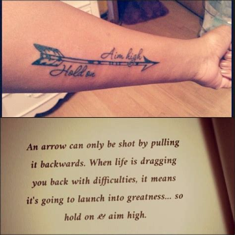 arrow tattoo meaning quote 17 best images about archery on pinterest compound