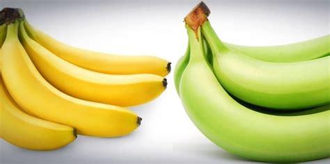 beda manfaat sehat buah pisang mentah  matang