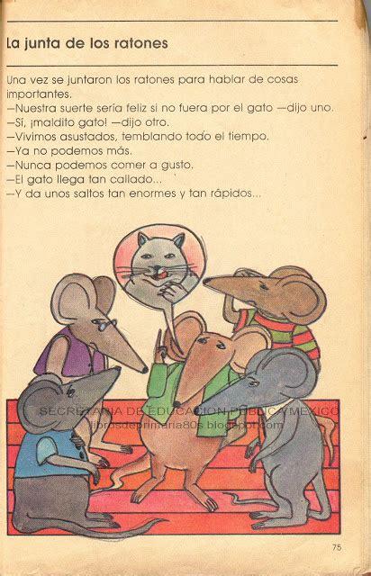 libro de lecturas segundo grado de primaria 2000 libros de primaria de los 80 s la junta de los ratones