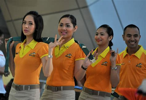 in pictures cebu pacific s cabin crew