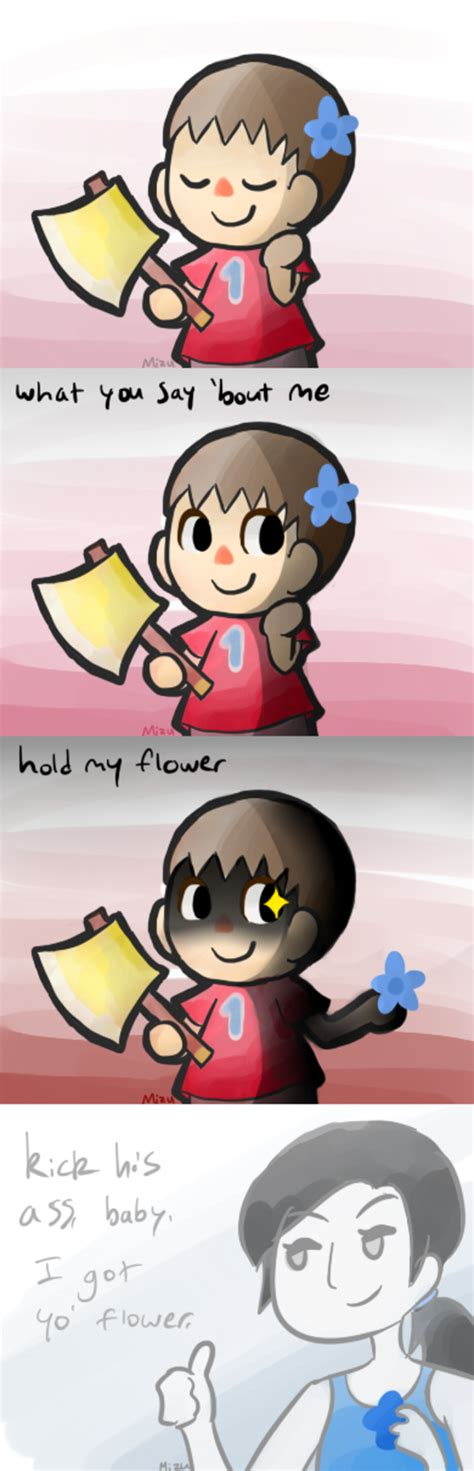Hold My Flower Meme - image 560927 hold my flower know your meme