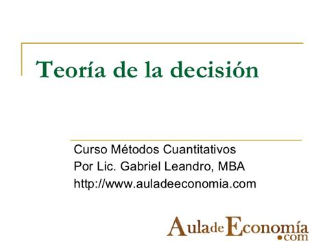 Mba Decision by Decision