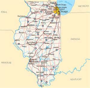 Map Of Illinois With Cities by Illinois Map Map Of Illinois