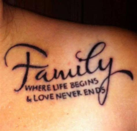 small family quotes for tattoos family quotes tattoos www pixshark images
