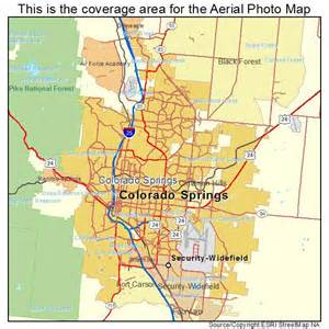 colorado springs area map aerial photography map of colorado springs co colorado