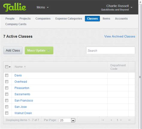 Expenditure Report Quickbooks by Quickbooks Expense Management With Tallie Accountex Report