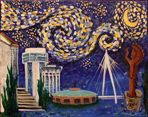 paint nite wichita starry wichita pinot s palette painting