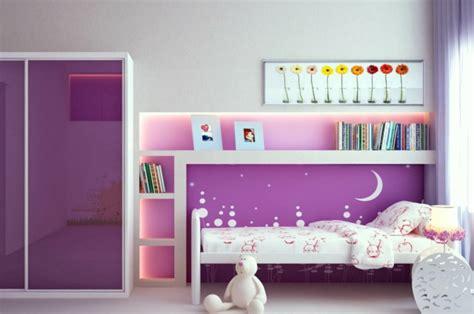 Kinderzimmer Lila Gestalten by Kinderzimmer F 252 R M 228 Dchen 105 Farb Und Gestaltungsideen