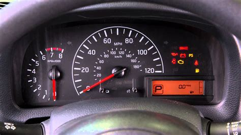 Nissan Altima Warning Lights by 2016 Nissan Nv200 Warning And Indicator Lights