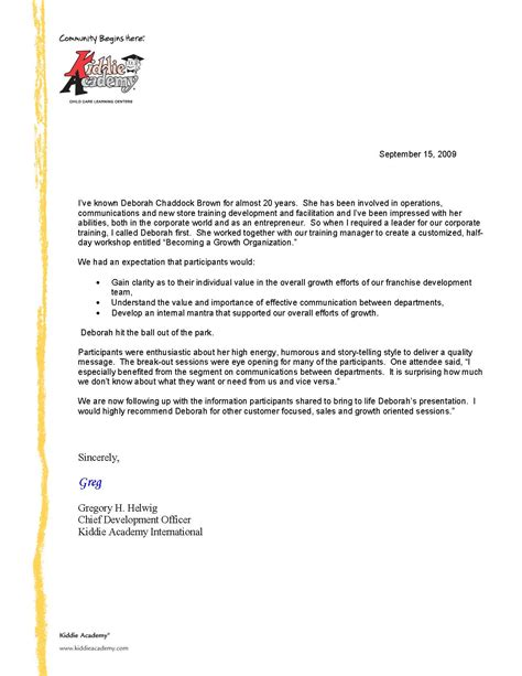Business School Reference Letter Exles business testimonial template 28 images business