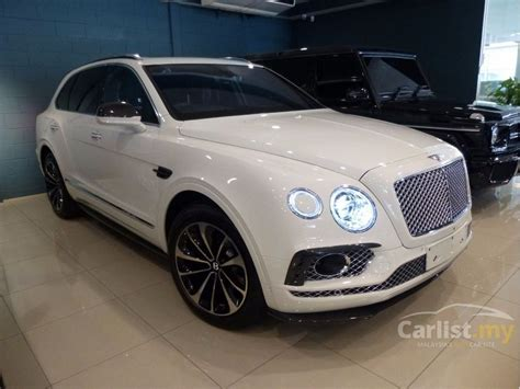 suv bentley white bentley bentayga 2016 6 0 in selangor automatic suv white