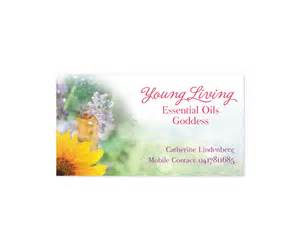 living essential oils business cards business card design design for catherine lindenberg a