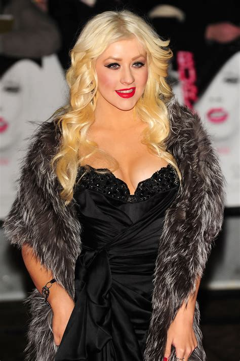 Aguilera Marsh by Premiere Of Burlesque 2 Zimbio