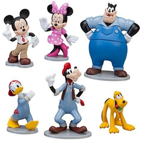 Disney Figure Donald Mickey Minnie Goofy Pluto disney exclusive 6 pvc figurine set mickeys car wash mickey minnie donald goofy pluto pete