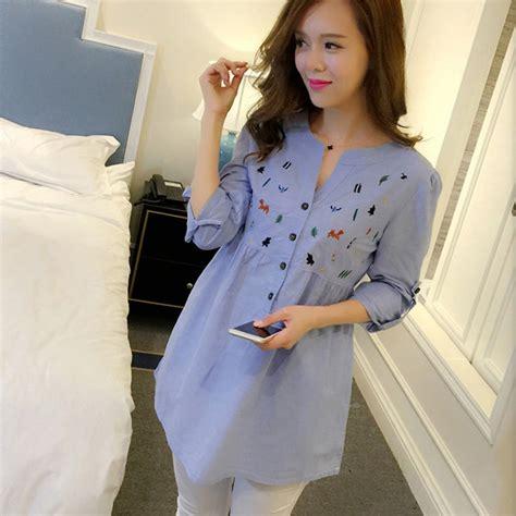 Gasta Salur 2 2016 maxi blusa vestidos de ropa de maternidad embarazo