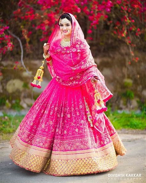 bridal lehenga draping draping double dupatta indian wedding fashion