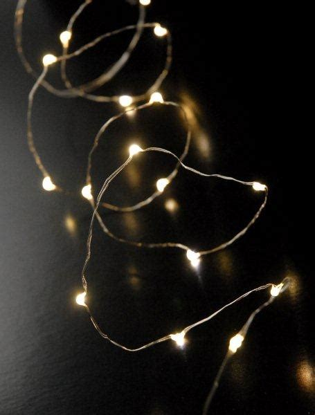 Led Fairy Lights Warm White 4 4ft 20ct Warm White Battery Operated Lights