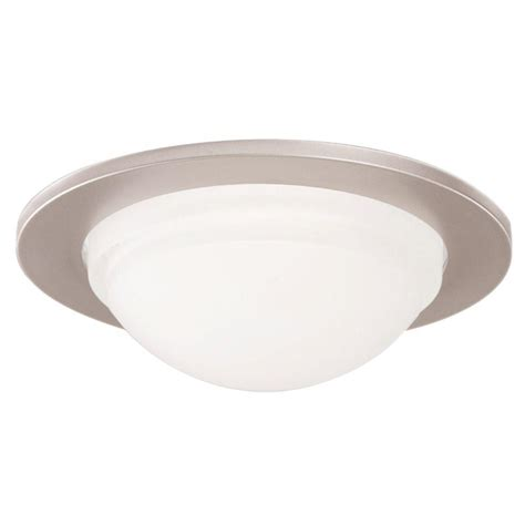 halo shower light trim halo 5054 series 5 in satin nickel recessed ceiling light