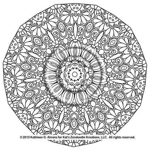 mandala coloring book buy top complex mandala coloring pages printable instant pdf