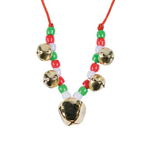 necklace craft beaded jingle bell necklace craft kit trading