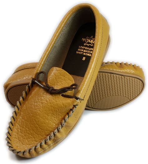 Handmade Uk - mens black leather moccasins slippers handmade uk