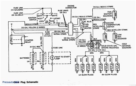glow relay wiring diagram wiring diagram