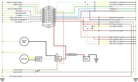 nighthawk 750 wiring diagram wiring diagram