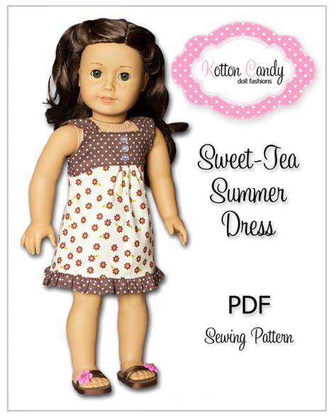 doll clothes pattern pdf items similar to pdf sewing pattern for 18 inch american