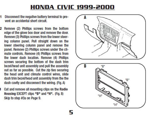 wiring diagram for 1999 honda civic get free image about