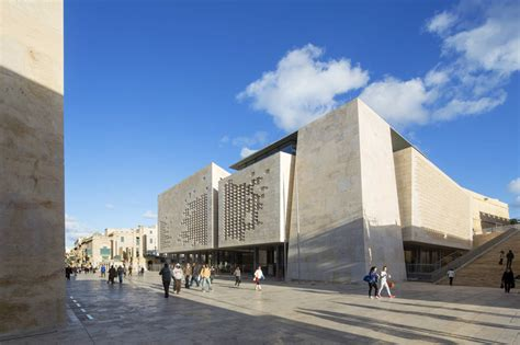 Basement Office Ideas by Renzo Piano S Valletta City Gate Masterplan Nears Completion