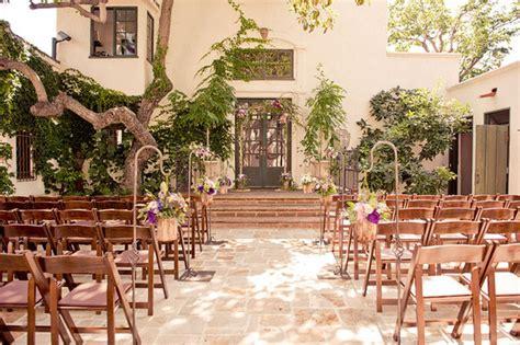 rustic outdoor wedding venues in california the villa san juan capistrano was an ideal setting for a rustic whimsical california garden
