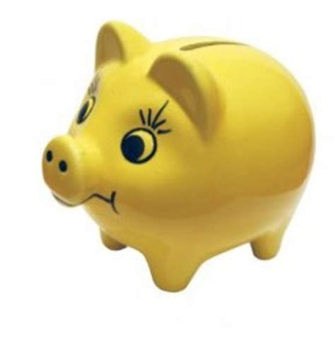 Yellow Bankers L by Piggy Bank Photo Page Everystockphoto