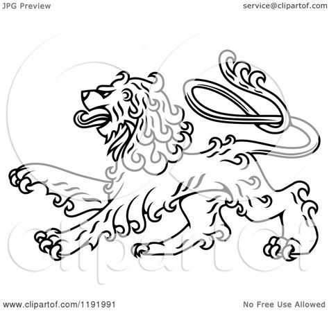 white curly haired clipart of a black and white curly haired royal heraldic royalty free vector