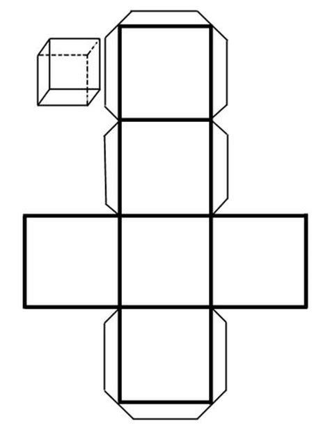 figuras geometricas recortables pdf recortables de figuras geom 233 tricas cubo dibujos para