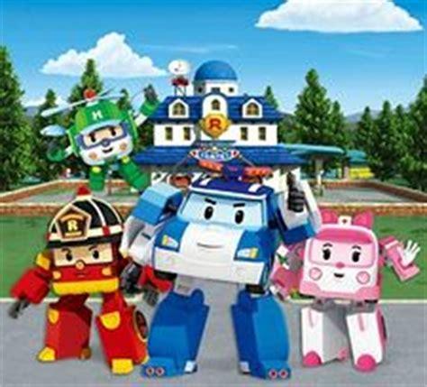 Background Robo Poli Kecil Poli Rescue Station robocar poli anime animeclick it