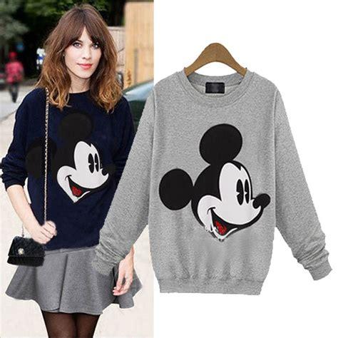 Sweater Hoodie Mickey Fashion Wanita Murah buy wholesale hoodie mickey from china hoodie mickey wholesalers aliexpress