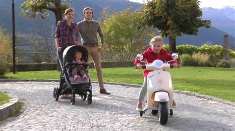 baby peg perego vespa akuelue motorsiklet youtube
