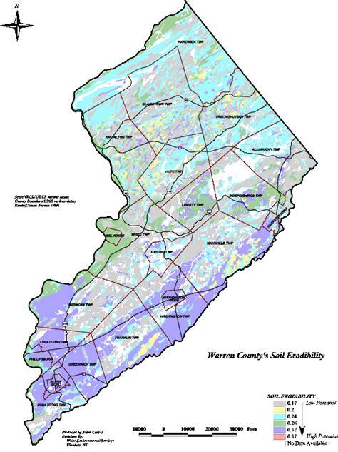 Warren County Nj Records Map Of Warren County Nj My